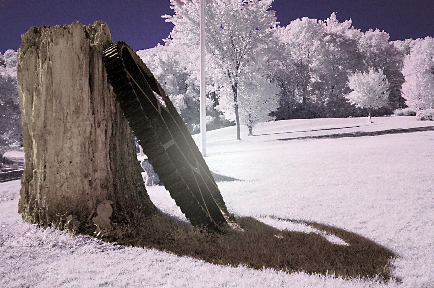 Fallen Wheel - Ringwood Manor