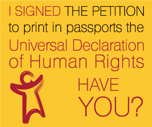 Sign the UDHR Passort Petition!